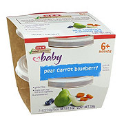 H-E-B Select Ingredients Baby Second Stage Pear Carrot Blueberry