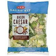H-E-B Select Ingredients Bacon Caesar Salad Kit
