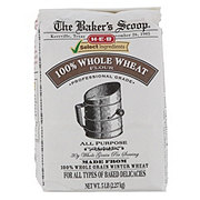 H-E-B Select Ingredients Baker's Scoop 100% Whole Wheat Flour