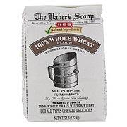H-E-B Select Ingredients Baker's Scoop 100% Whole Wheat Flour