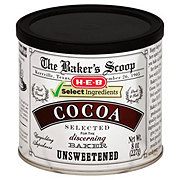 H-E-B Select Ingredients Baker's Scoop Unsweetened Cocoa