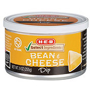H-E-B Select Ingredients Bean & Cheese Dip