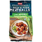 H-E-B Select Ingredients Beef and Pork Jalapeno Meatballs