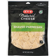 H-E-B Select Ingredients Bellafoglia Shaved Parmesan Cheese