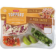 H-E-B Select Ingredients Blackened Fish Taco Toppers