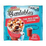 H-E-B Select Ingredients Blendables The Red Zone Smoothie