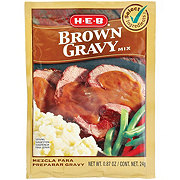H-E-B Select Ingredients Brown Gravy Mix
