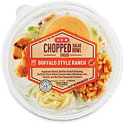 H-E-B Select Ingredients Buffalo Style Ranch Chopped Salad with Chicken