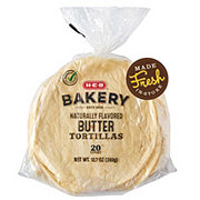 H-E-B Select Ingredients Butter Tortillas