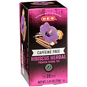 H-E-B Select Ingredients Caffeine Free Hibiscus Herbal Tea Bags