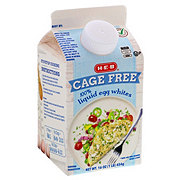 H-E-B Select Ingredients Cage Free Liquid Egg Whites