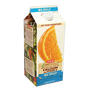 H-E-B Select Ingredients Calcium and Vitamin D No Pulp Orange Juice