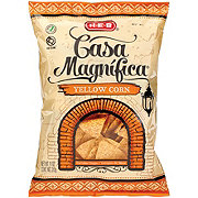 H-E-B Select Ingredients Casa Magnifica Yellow Corn Tortilla Chips