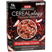 H-E-B Select Ingredients Cerealology Fruit & Maple Crunch