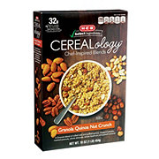 H-E-B Select Ingredients Cerealology Granola Quinoa Nut Crunch