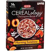 H-E-B Select Ingredients Cerealology Morning Sunshine