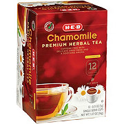 H-E-B Select Ingredients Chamomile Premium Herbal Tea Single Cup