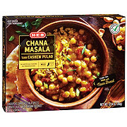 H-E-B Select Ingredients Chana Masala with Cashew Pulao