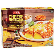 H-E-B Select Ingredients Cheese Enchiladas