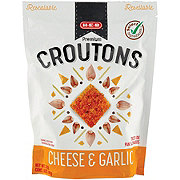 H-E-B Select Ingredients Cheese & Garlic Premium Croutons