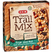 H-E-B Select Ingredients Chewy Fruit and Nut Trail Mix Bars