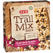 H-E-B Select Ingredients Chewy Oatmeal Raisin Trail Mix Bars