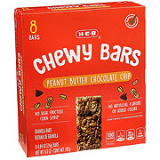 H-E-B Select Ingredients Chewy Peanut Butter Chocolate Chip Granola Bars