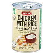H-E-B Select Ingredients Chicken & Rice Condensed Soup