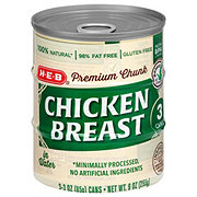 H-E-B Select Ingredients Chicken Breast In Water