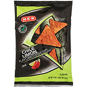 H-E-B Select Ingredients Chile Limon Flavored Tortilla Chips