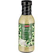 H-E-B Select Ingredients Cilantro Cotija Dressing
