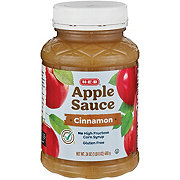 H-E-B Select Ingredients Cinnamon Apple Sauce