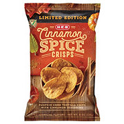 H-E-B Select Ingredients Cinnamon Spice Crisps