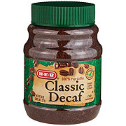 H-E-B Select Ingredients Classic Decaf Instant Coffee