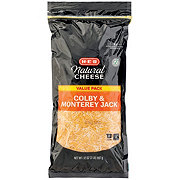 H-E-B Select Ingredients Colby Jack Fancy Shredded Cheese Value Pack