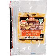 H-E-B Select Ingredients Colby Jack Slider Slices