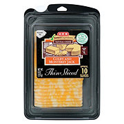 H-E-B Select Ingredients Colby Jack Thin Sliced Cheese