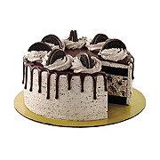 H-E-B Select Ingredients Cookies & Cream Ice Cream Cake with Chocolate Cake & Oreo Icing
