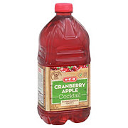 H-E-B Select Ingredients Cranberry Apple Cocktail Juice
