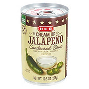 H-E-B Select Ingredients Cream of Jalapeno Condensed Soup