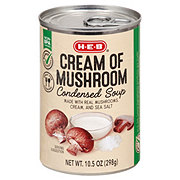 H-E-B Select Ingredients Cream of Mushroom Condensed Soup