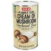H-E-B Select Ingredients Cream of Mushroom Family Size Condensed Soup
