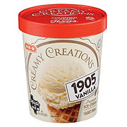 H-E-B Select Ingredients Creamy Creations 1905 Vanilla Ice Cream