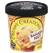 H-E-B Select Ingredients Creamy Creations Banana Nut Ice Cream