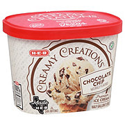 H-E-B Select Ingredients Creamy Creations Chocolate Chip Ice Cream