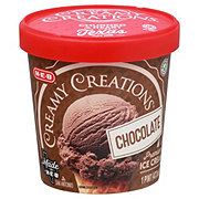 H-E-B Select Ingredients Creamy Creations Chocolate Ice Cream