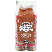 H-E-B Select Ingredients Creamy Creations Chocolate Ice Cream 3 oz Cups