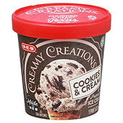 H-E-B Select Ingredients Creamy Creations Cookies 'n Cream Ice Cream