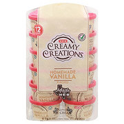 H-E-B Select Ingredients Creamy Creations Homemade Vanilla Ice Cream 3 oz Cups