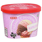 H-E-B Select Ingredients Creamy Creations Neapolitan Ice Cream